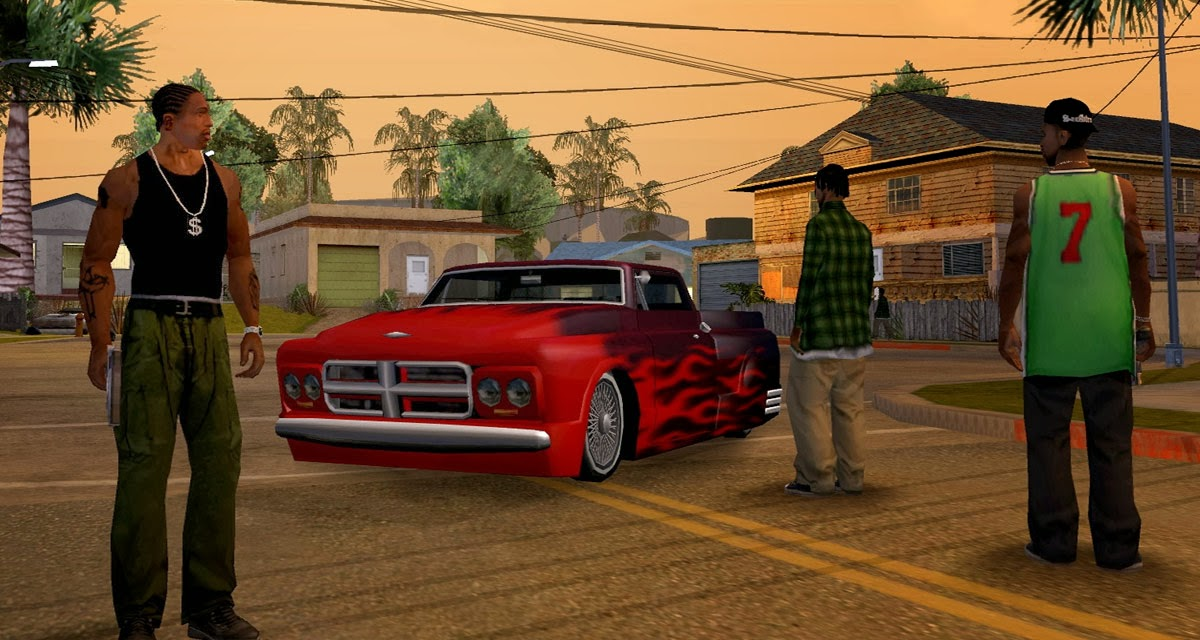gta san andreas game free  full version for android