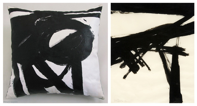 Franz Kline Is Most Famous For His Black And White Abstractions Which Have Been Likened Variously To New Yorks Cityscape The Landscape Of Childhood