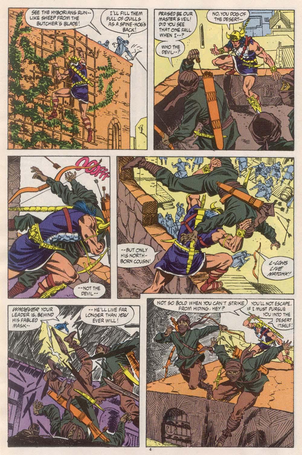 Conan the Barbarian (1970) Issue #246 #258 - English 5