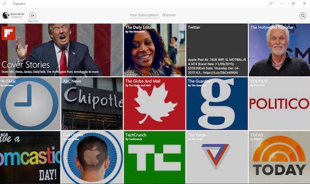 Flipboard Digital Newspaper