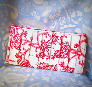 image clutch bag Tanya Whelan pattern Amy Butler lark fabric westminster souvenir
