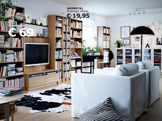 Bibliothèque Ikea