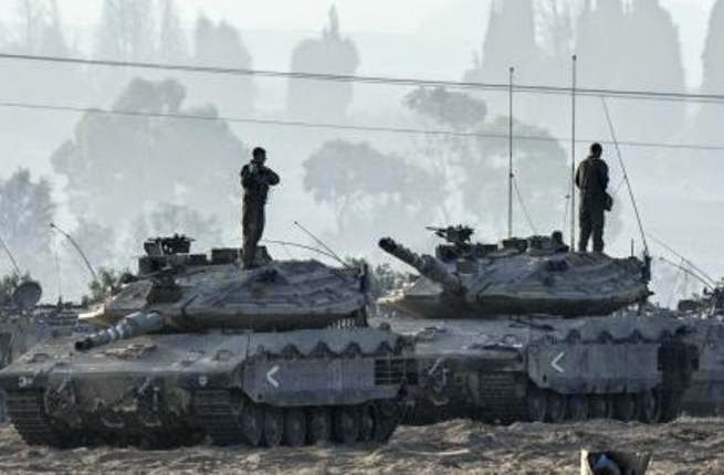 الجيش الاسرائيلي يبدأ عملية برية واسعة في قطاع غزة