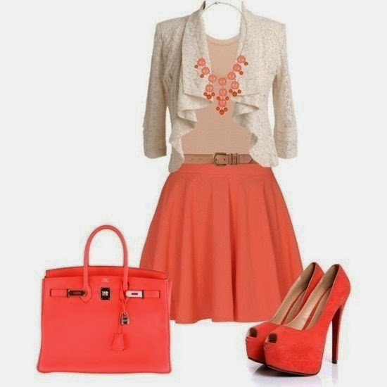 Dressing Color Combination Combination With Coral Color