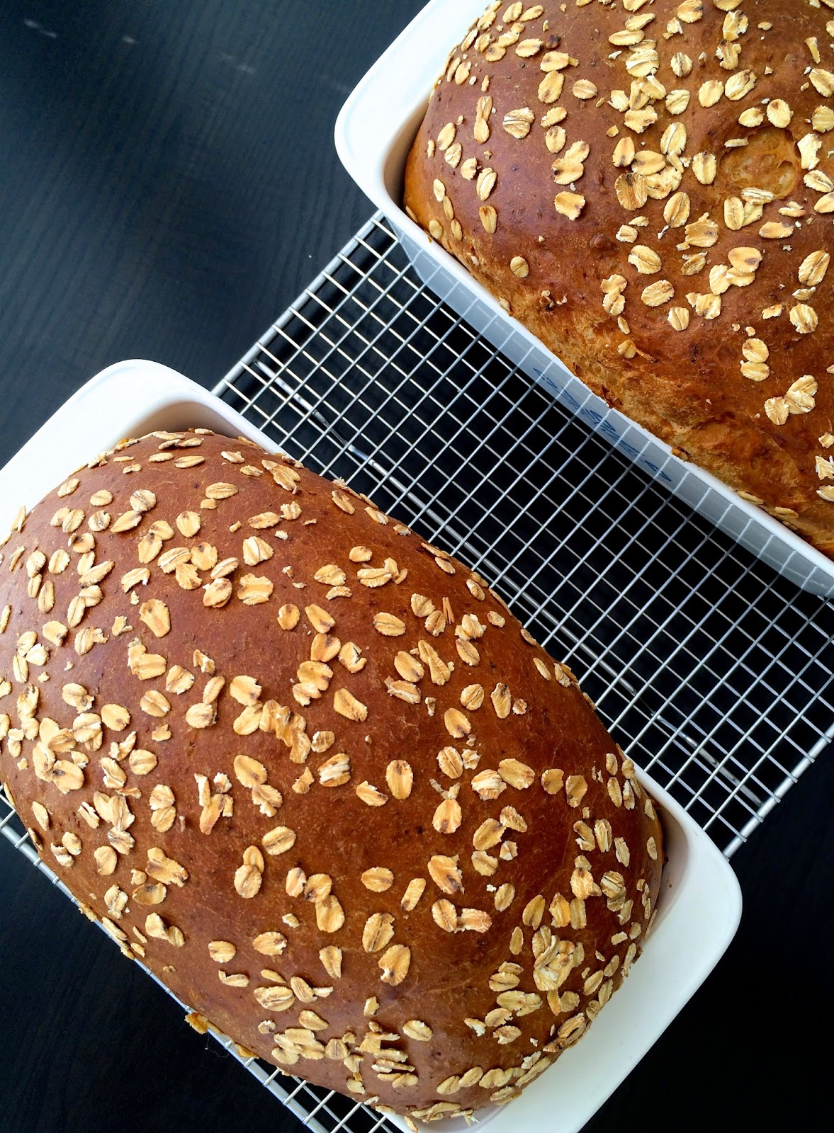 Hearty White Sandwich Bread Loaves by @javelinwarrior