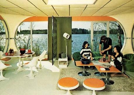 een bijzonder jaren 70 interieur