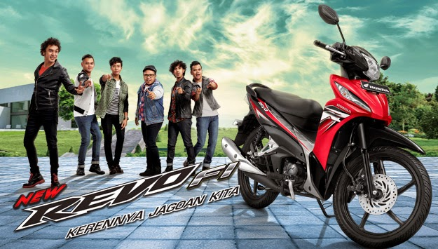 Motor Honda new Absolute Revo