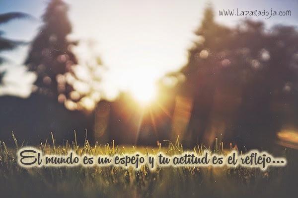vivir con actitud