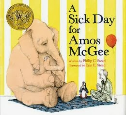 http://www.amazon.com/Sick-Day-Amos-McGee/dp/1596434023/ref=sr_1_1?s=books&ie=UTF8&qid=1386625385&sr=1-1&keywords=a+sick+day+for+amos+mcgee