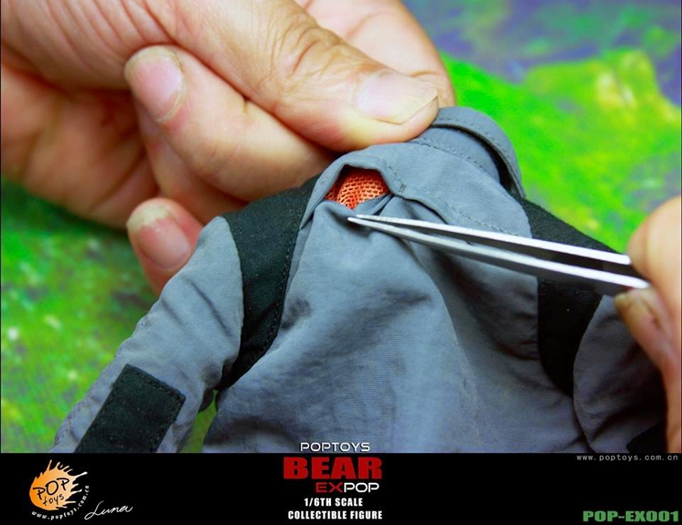 [POPTOYS] (Bear Grylls) 1/6 EX001 Wildness Survivor. Pop16