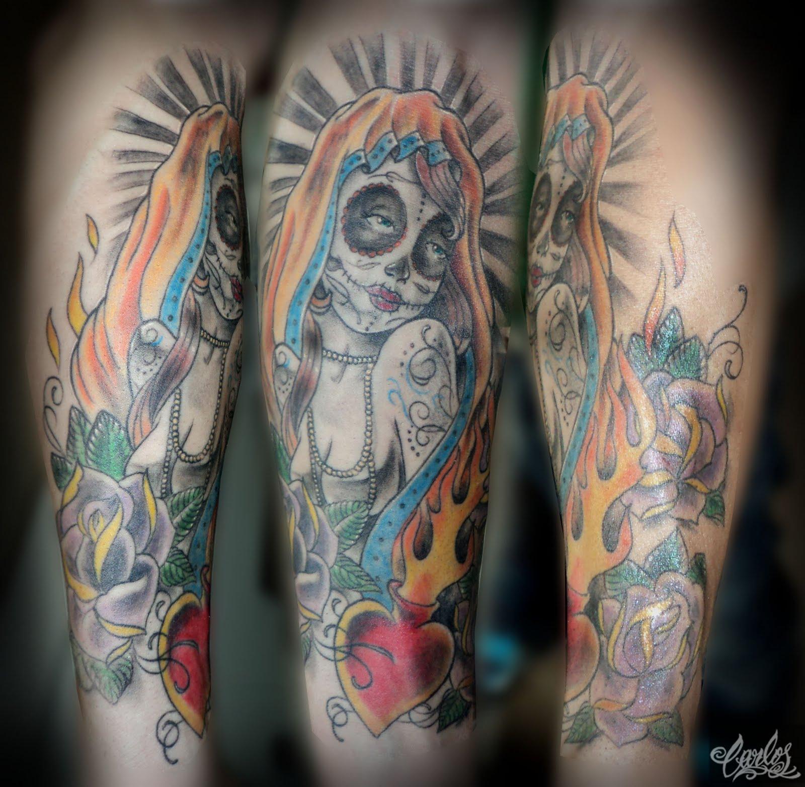 Carlos Art Studio: Santa Muerte