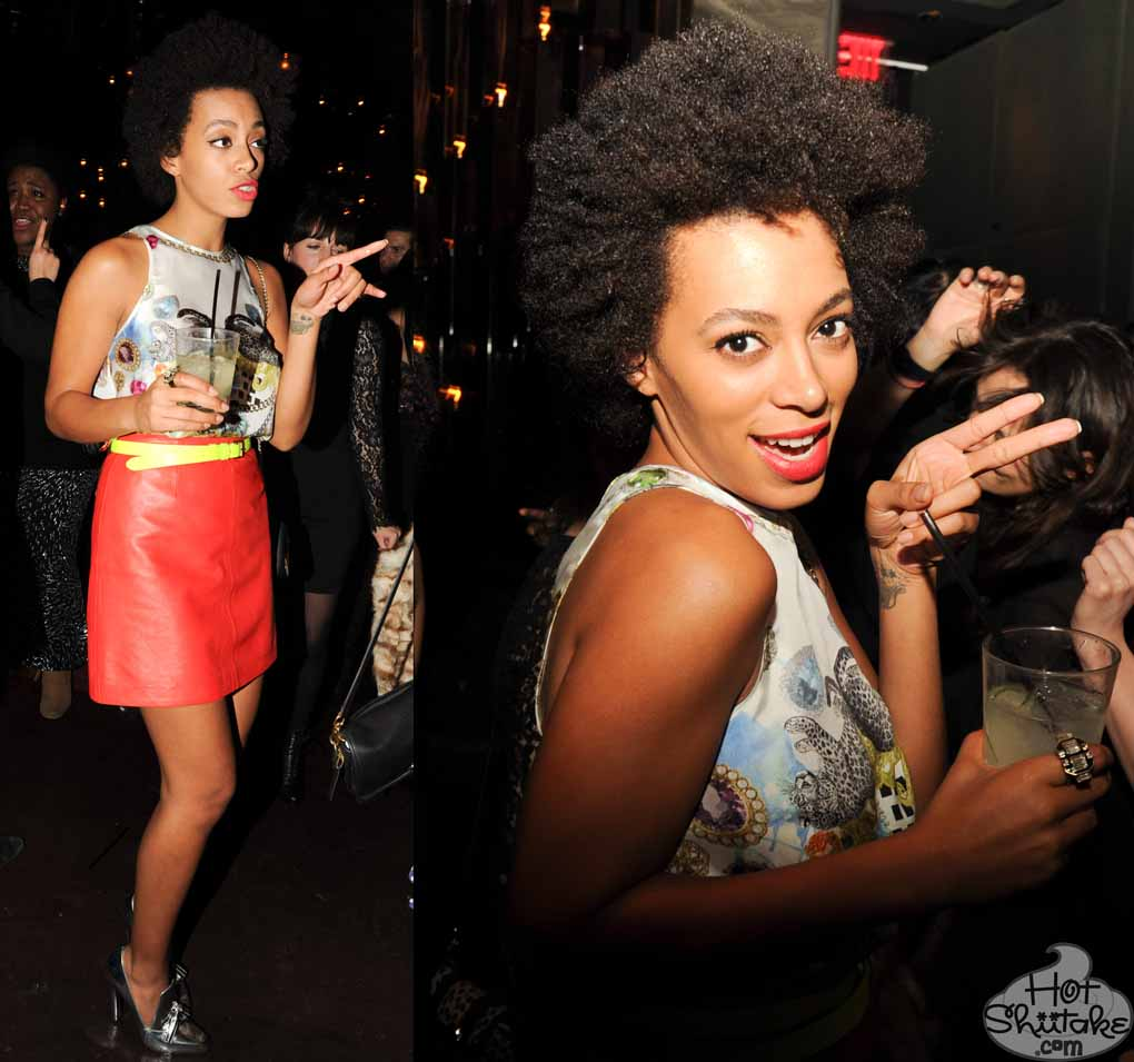 Solange Knowles Afro