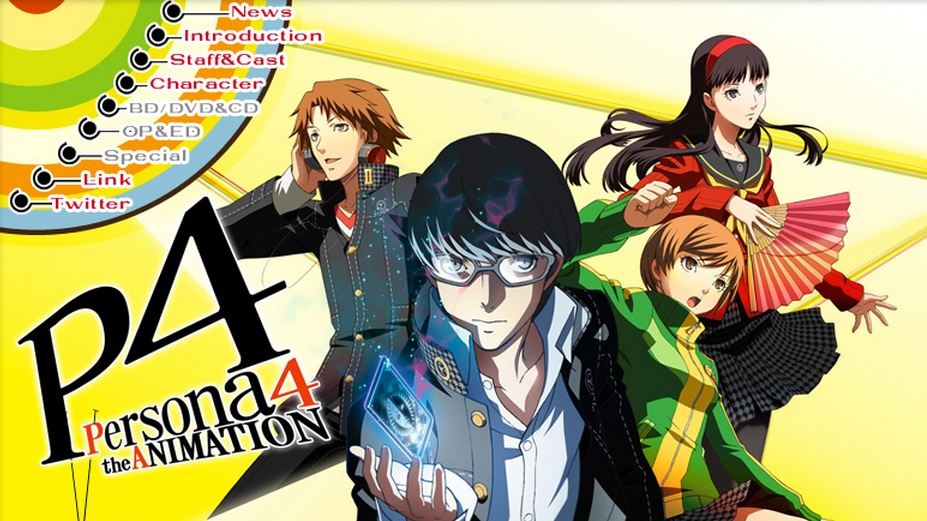 persona 4 animation Persona 4 The Animation [ Subtitle Indonesia ]