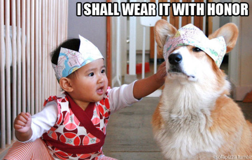 I Shall Wear It With Honor (Dog)