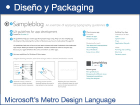 Emulating Microsoft's Metro Design Language