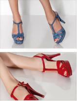 calzado cabotine bicolor
