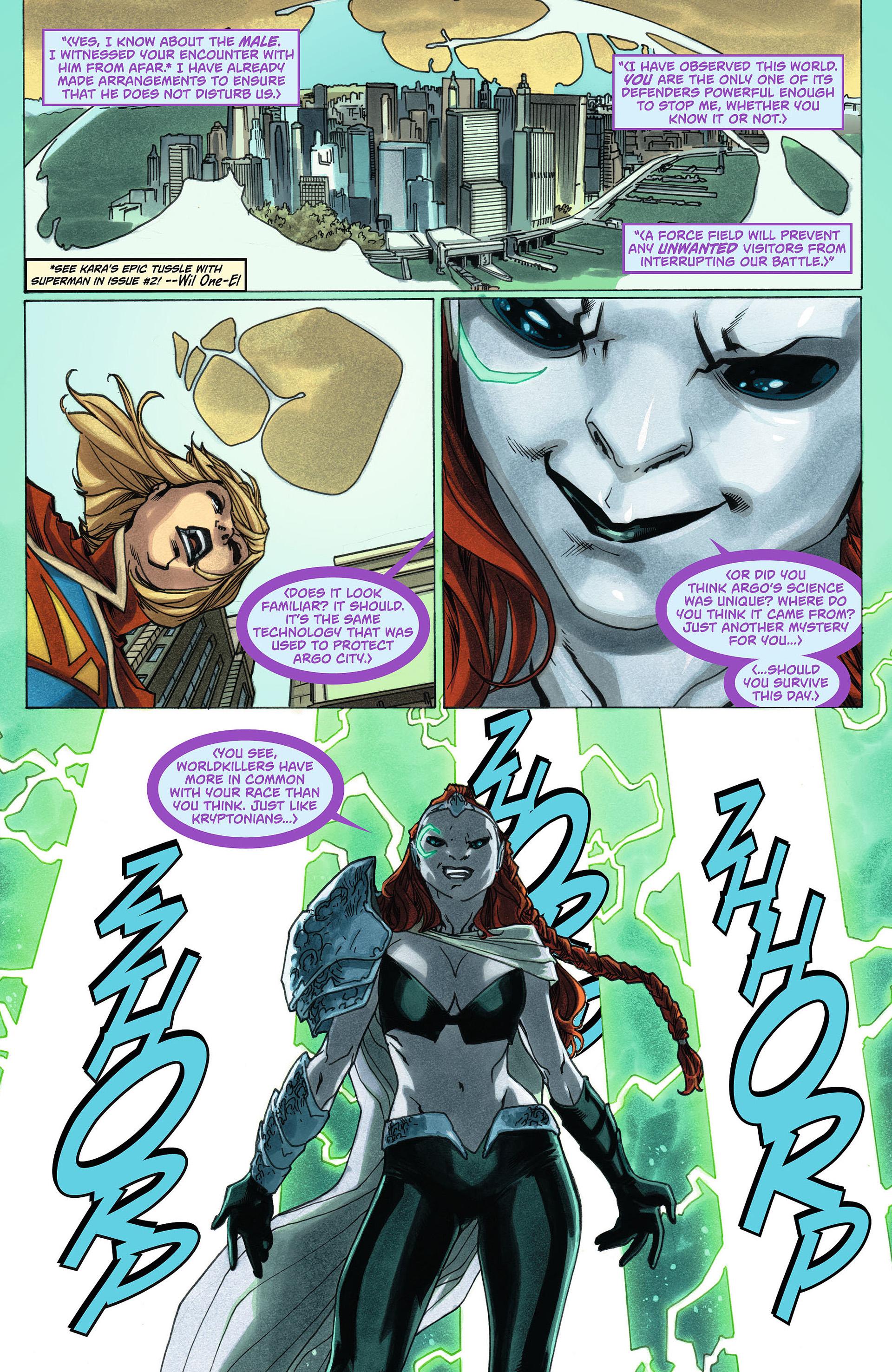 Supergirl (2011) Issue #6 #8 - English 18