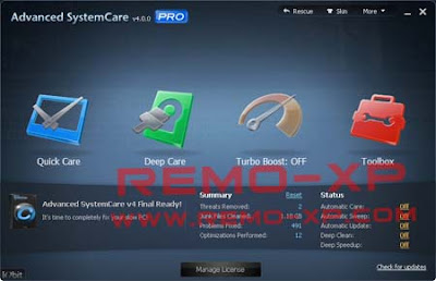 Advanced SystemCare Pro v4.0.0.163
