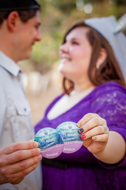 Beth and Stephen's Disney Themed Engagement Photos - C Sexton Photography