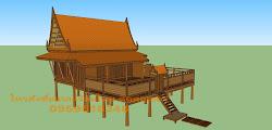 บ้านทรงไทยโบราณ