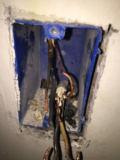 Electric heater damage circuit restoration