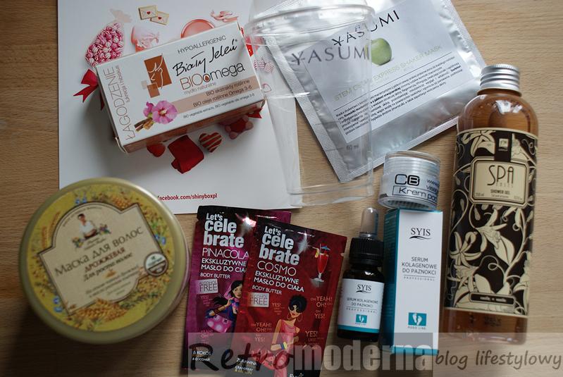 ShinyBox luty 2015 Gift of LOVE