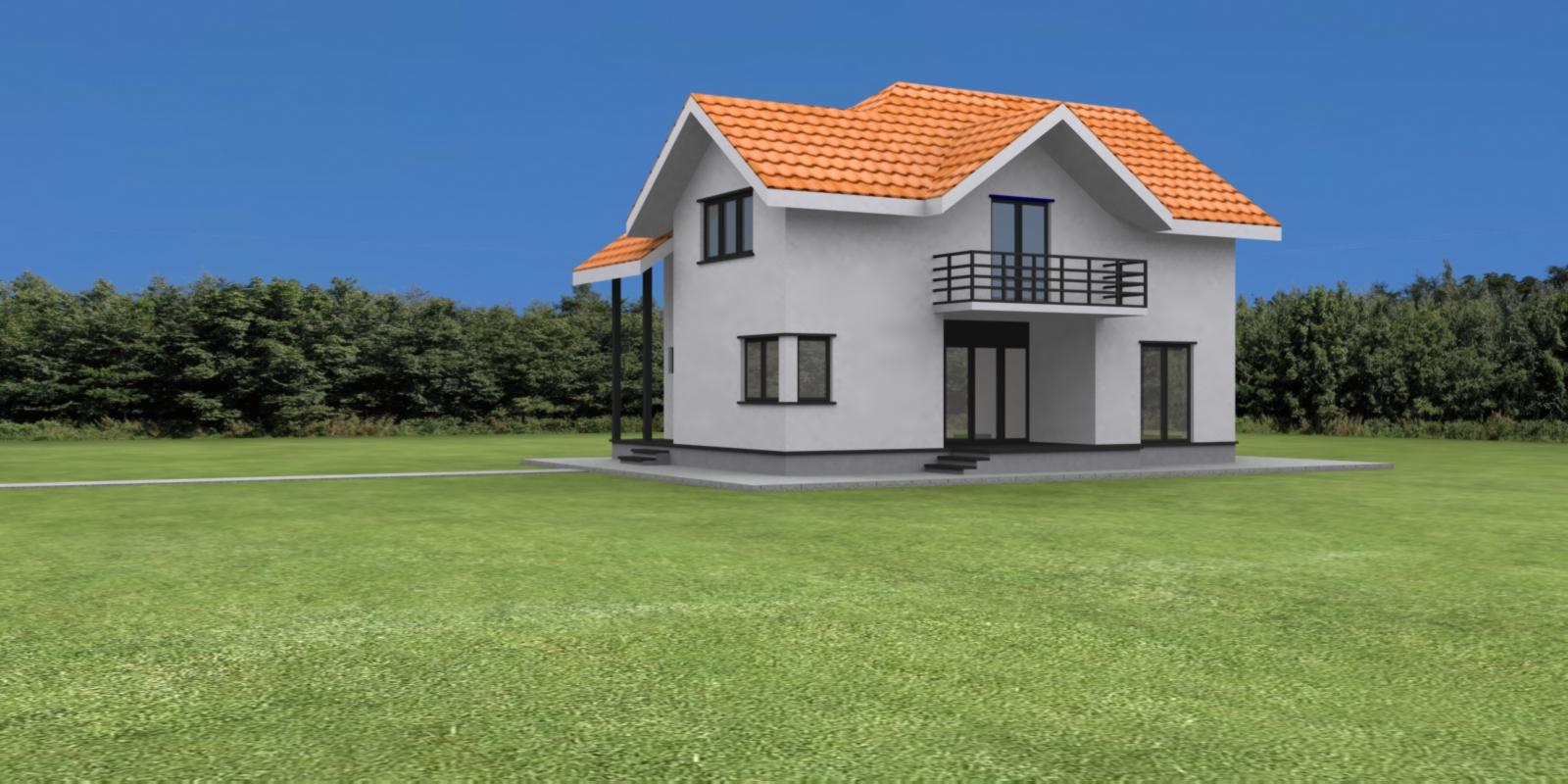 Case planuri proiecte proiect vila tip g for Planuri de case