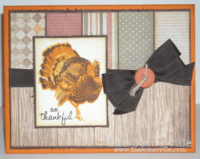Kitchen Sink Stamps Multi Step Turkey Trot