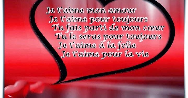 Sms d 39 amour 2018 sms d 39 amour message petits mots d 39 amour - Lettre saint valentin pour son cheri ...