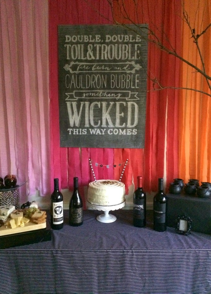 Kate Spade Inspired Halloween Party