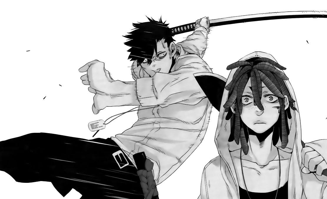 gangsta manga ile ilgili görsel sonucu