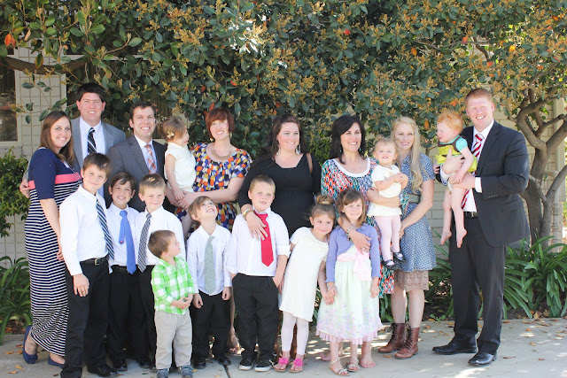 group photo at Eyan's baptism