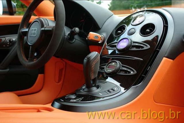 Bugatti Veyron Super Sports - interior