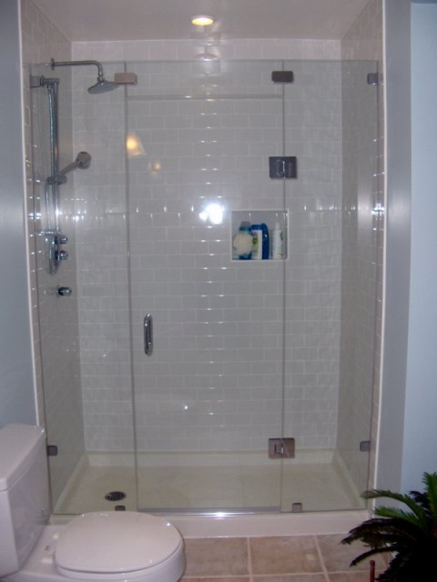 Glass Shower Doors Frameless Ideas