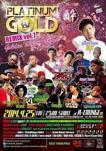 4/25 PLATINUM GOLD@渋谷R-LOUNGE