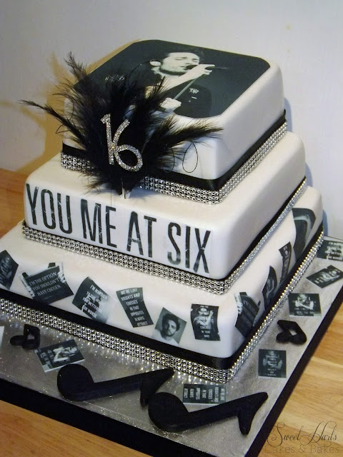 You Me At Six Josh Franceschi birthday cake