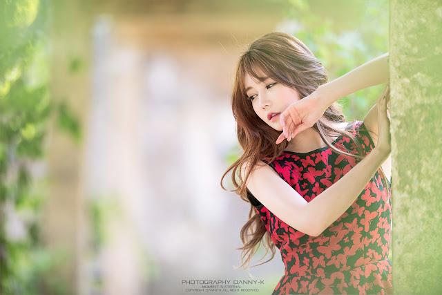 5 Han Ga Eun - Lovely Ga Eun In Outdoors Photo Shoot - very cute asian girl-girlcute4u.blogspot.com