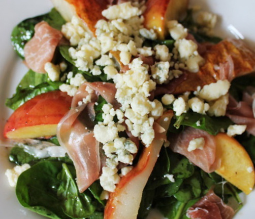Mirabella's Pantry: roasted fruit salad with gorgonzola and maple ...