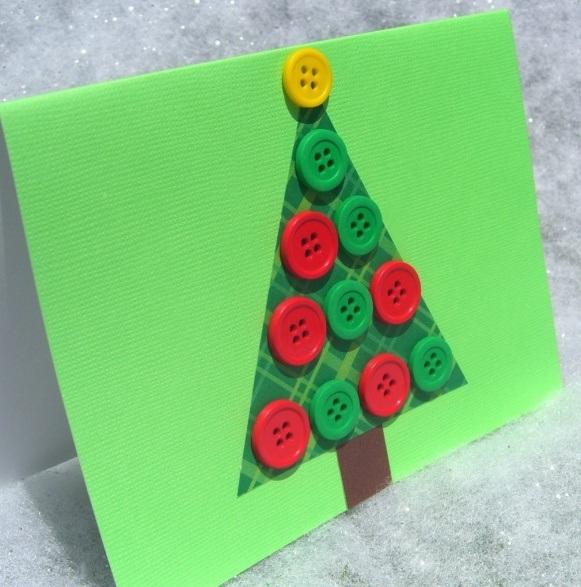 Como hacer tarjetas de navidad artesanales especial de navidad 2017 - Como hacer tarjeta de navidad ...