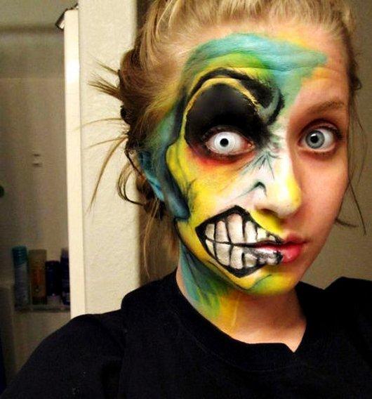 Impresionantes pinturas faciales para tu Halloween [15 Pics] - Onséke