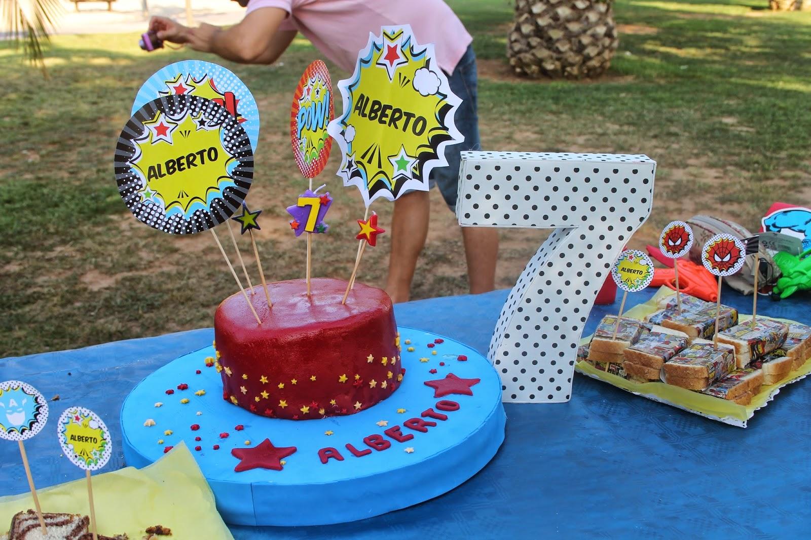 Decoracion cumpleanos infantiles 7 anos - Decoracion cumpleanos nino 6 anos ...