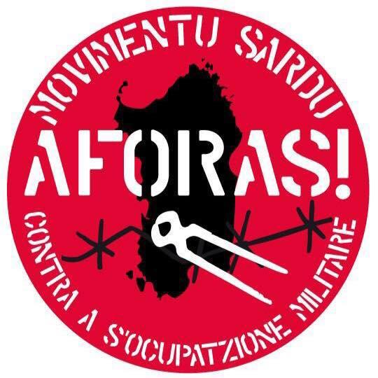 Movimento sardo contro le basi militari