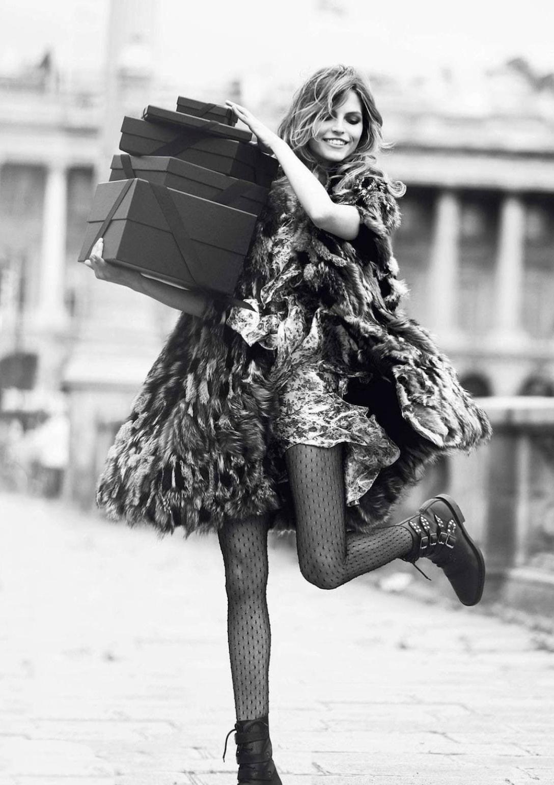 Karlina Caune in Parisiennes / Vogue Paris September 2013 (photography: David Bellemere, styling: Capucine Safyurtlu) via fashionedbylove.co.uk