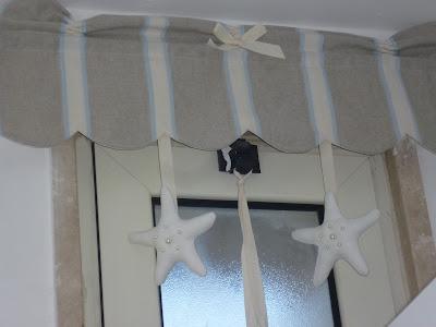 100 love tende country bagno for Cucire tende a vetro