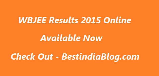wbjee results,wbjee results 2015 online, wbjee online