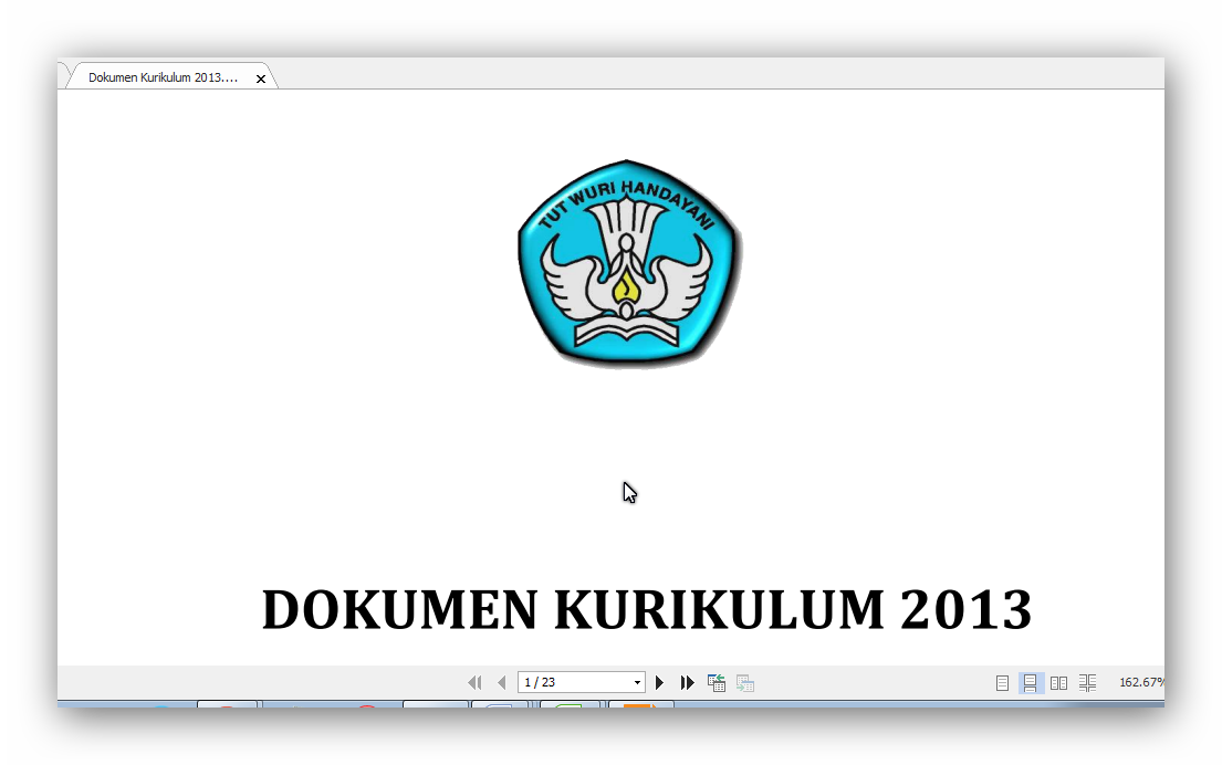 DOKUMEN KURIKULM 2013 SD/MI 2104-2015