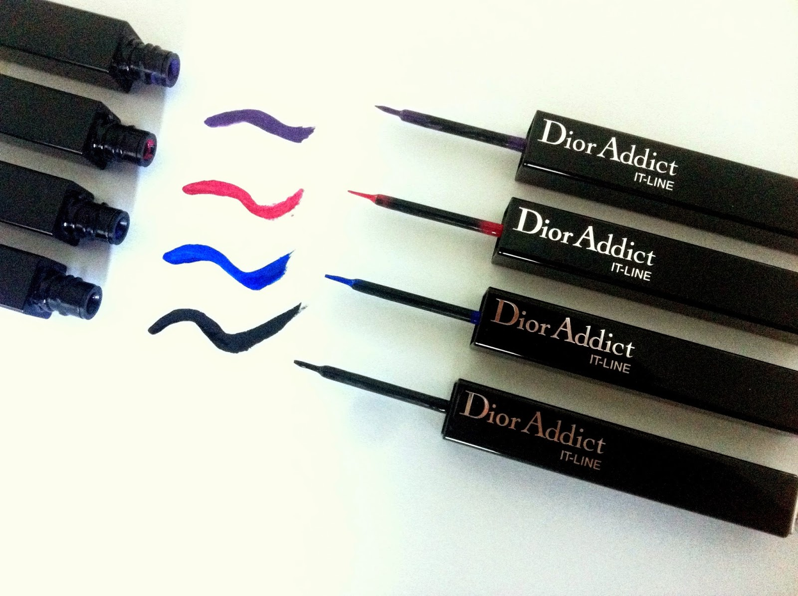dior it line eyeliner swatch, make up estate 2014