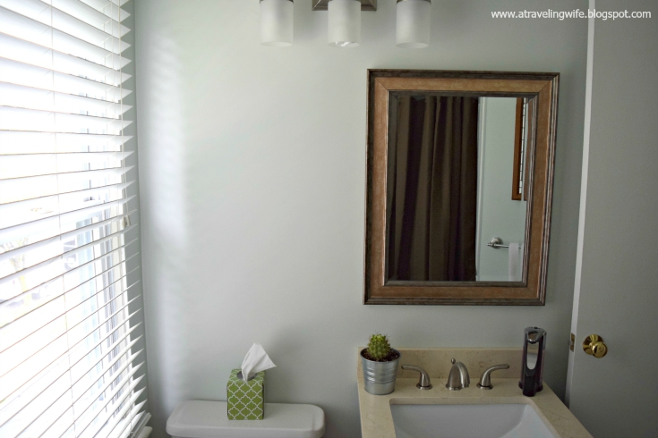 Bathroom Renovation Under $500 a traveling wife: bathroom remodel under $500