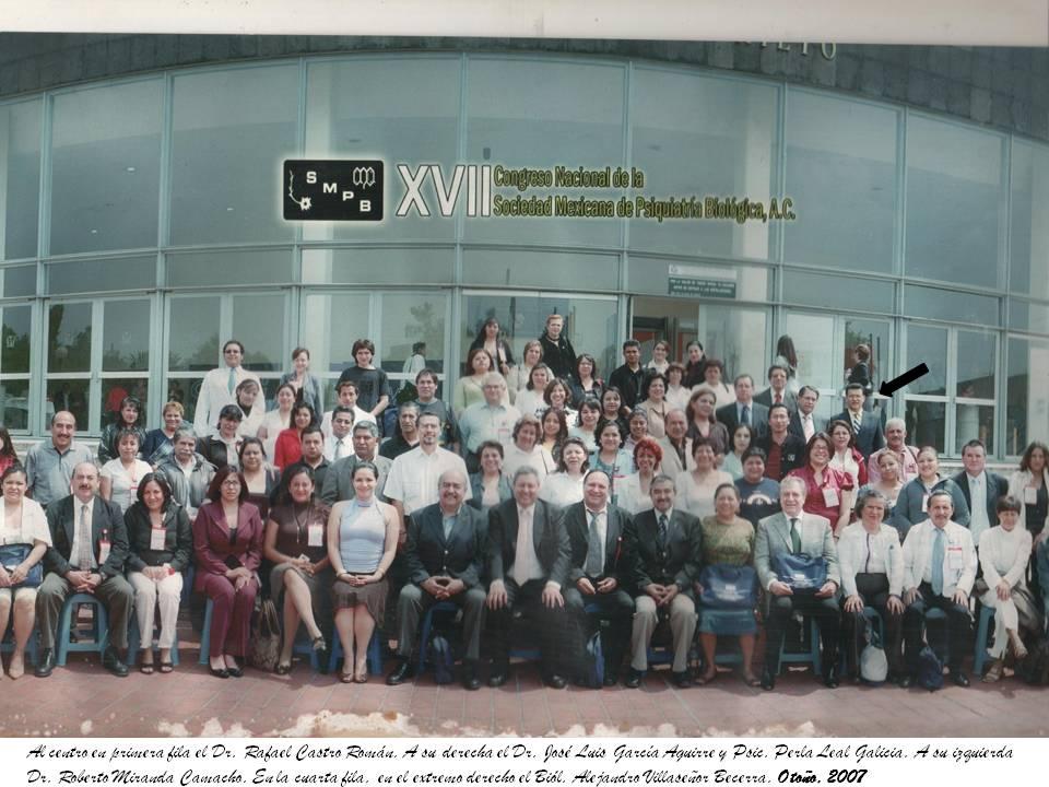 SOCIEDAD MEXICANA DE PSIQUIATRÍA BIOLÓGICA: MÉXICO