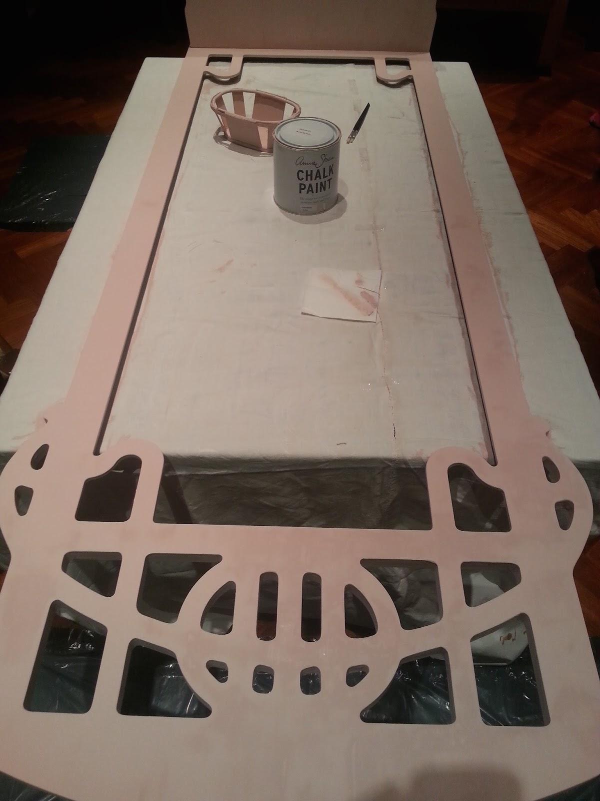 So ando entre nubes c mo pintar madera sin lijar - Pintar sillas de madera sin lijar ...
